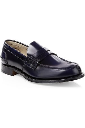 Church's Men's Turnbridge High Shine Penny Loafers - - Size 7 UK (8 US)