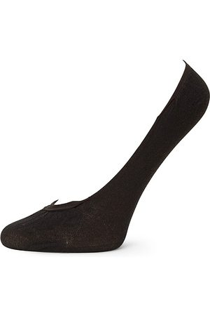 Wolford Women's Cotton Footsies Socks - - Size Small