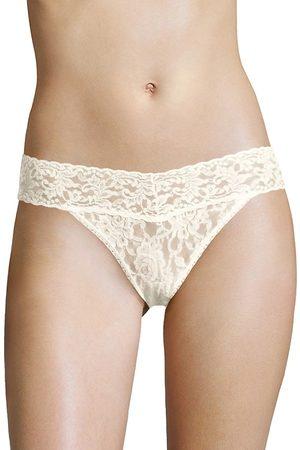 Hanky Panky Women Thongs - Women's Signature Lace Vikini Brief - Ivory - Size Medium