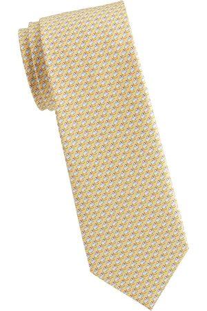 Salvatore Ferragamo Men's Mouse-Print Silk Tie
