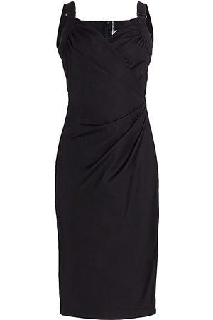 Max Mara Women's Laziale Faux Wrap Dress - - Size 4