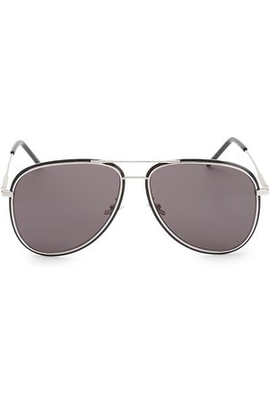 Saint Laurent Men's 61MM Aviator Sunglasses