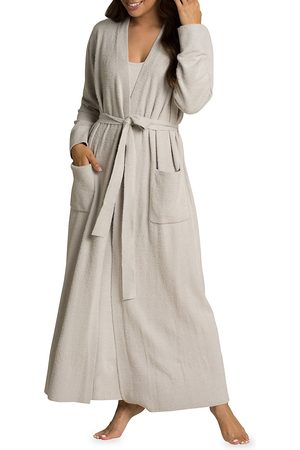 Barefoot Dreams Women's Cozychic Lite Long Robe - - Size Small-Medium