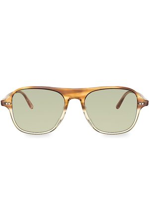 Oliver Peoples Men's Nilos 53MM Square Sunglasses