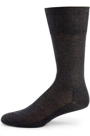 Falke Men's Egyptian Cotton Dress Socks - - Size 45-46 (11-12)