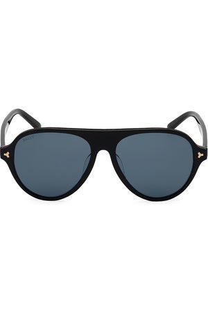Bally Men's 57MM Plastic Aviator Sunglasses
