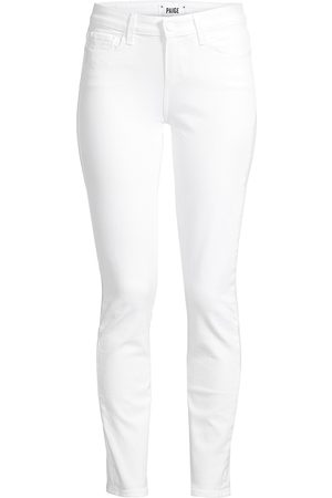 Paige Women's Skyline Mid-Rise Ankle Skinny Jeans - - Size 32 (10-12)