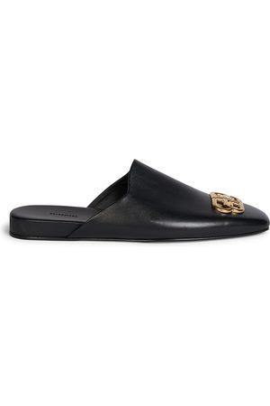 Balenciaga Men's Cosy BB Leather Mules - - Size 39 (6)