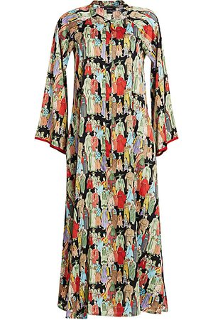 Natori Women's Dynasty Zip Caftan