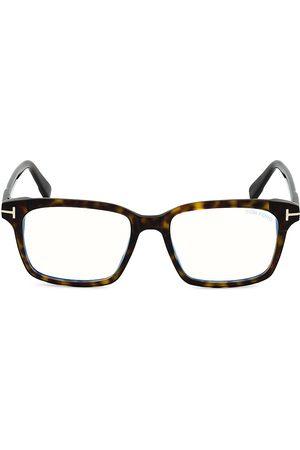Tom Ford Men's 51MM Plastic Blue Filter Optical Glasses