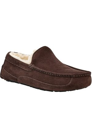 UGG Men's Men's Ascot Suede pure-Lined Slippers - - Size 9