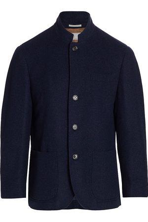 Brunello Cucinelli Women's Cashmere Patch Pocket Jacket - - Size XL
