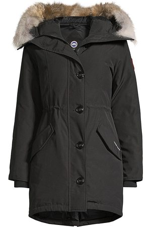 Canada Goose Women's Rossclair Fusion-Fit Fur-Trim Parka - - Size Medium