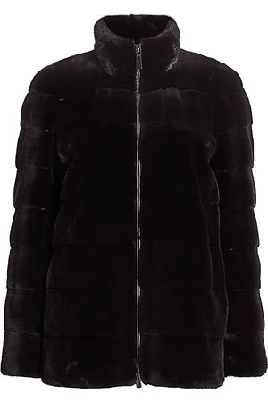 The Fur Salon Women's Bibhu Mohapatra For Plucked Mink Jacket - - Size Large