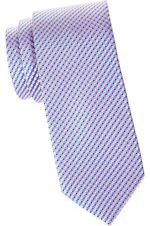 Eton Men's Micro Circle Silk Tie