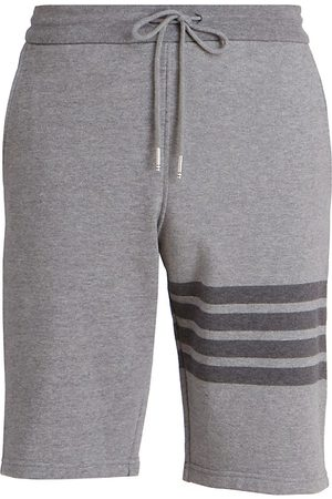 Thom Browne Men's Three Striped Jogger Shorts - - Size 3 (Large)