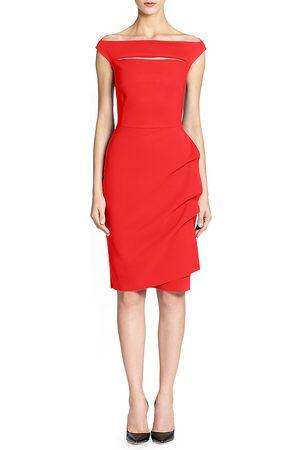 CHIARA BONI Women's Melania Short Off-The-Shoulder Dress - - Size 54 (18)