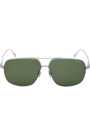 Tom Ford Men's John 62MM Aviator Sunglasses