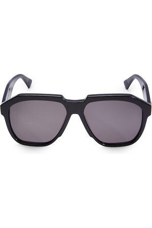Bottega Veneta Men's 57MM Pilot Sunglasses