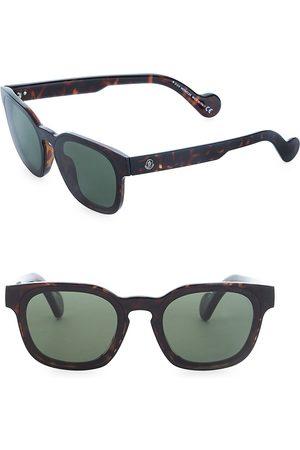 Moncler Men's Injected Sunglasses - Dark Havana