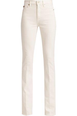 Ralph Lauren Women's High-Rise Bootcut Jeans - - Size 32 (10-12)