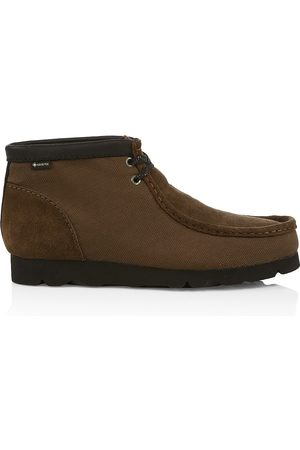 Clarks Men Boots - Suede Wallabee Boots
