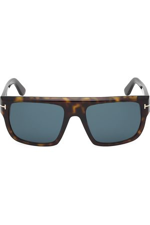 Tom Ford Men's Alessio 57MM Square Sunglasses