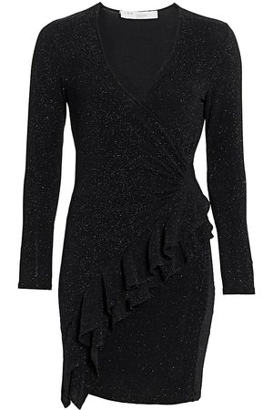 IRO Women Knitted Dresses - Hime V-Neck Sparkle Wrap Dress