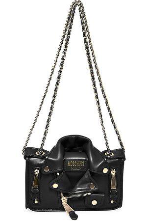 Moschino Women's Leather Jacket Shoulder Bag