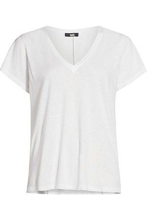 Paige Women's Zaya V-Neck T-Shirt - - Size Medium