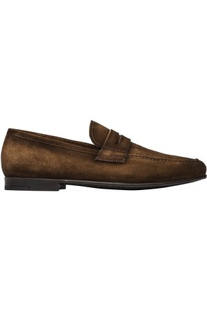 To Boot Men's Suede Penny Loafers - - Size 11