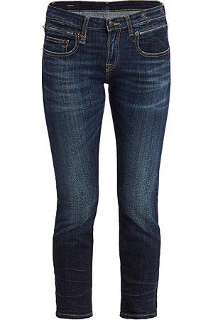 R13 Women's Biker Boy Low-Rise Jeans - - Size 26 (2-4)