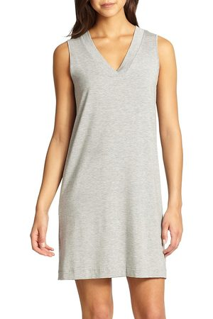 Hanro Women's Champagne Tank Gown - - Size Large