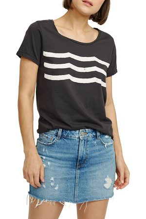SOL ANGELES Women's Waves Graphic T-Shirt - - Size Large