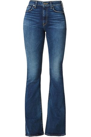 Hudson Women's Holly High-Rise Flared Jeans - - Size 32 (12)