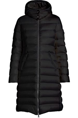 Moncler Women's Moka Long Down Puffer Coat - - Size 5 (XXL)