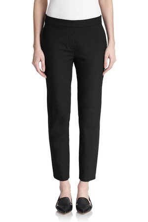 THEORY Women's Thaniel Twill Slim-Fit Crop Pants - - Size 14