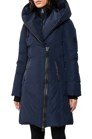 Mackage Women's Kay Down Puffer Jacket - Navy - Size XS