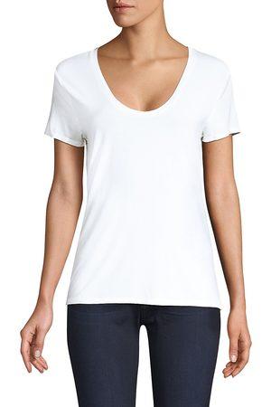 Splendid Women's Scoop Neck Jersey Top - - Size XS