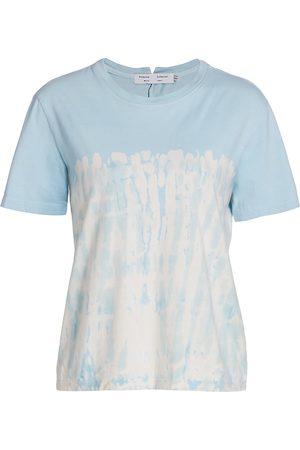 PROENZA SCHOULER WHITE LABEL Women's Tie-Dye Classic T-Shirt - - Size Medium