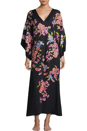 Natori Women's Hanami Silk Kimono - - Size Medium-Large