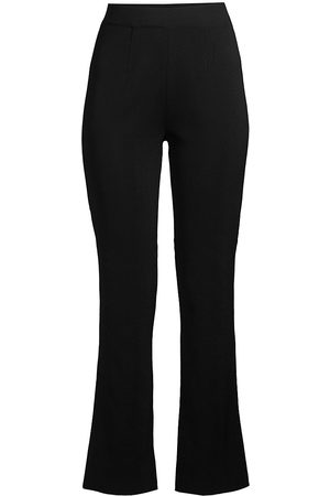 Misook Women's High-Rise Boot-Cut Pants - - Size Medium