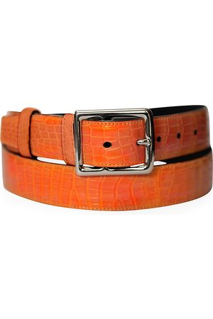 Grace Men's Genuine Crocodile Buckle Belt - - Size 44