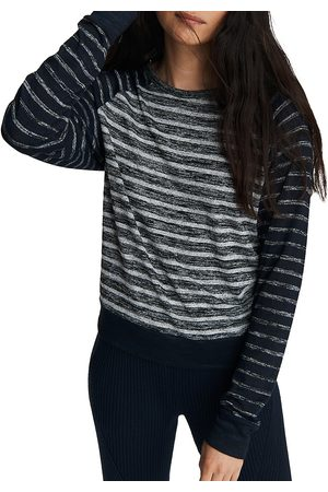 RAG&BONE Women's The Knit Striped Pullover Top - - Size Large