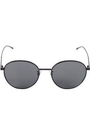 Bottega Veneta Men's 57MM Round Sunglasses