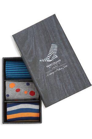 Marcoliani Men's 3-Pack Assorted Sock Set