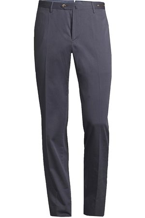 PT01 Men's Slim-Fit Silk-Blend SilkOchino Trousers - - Size 54 (38)