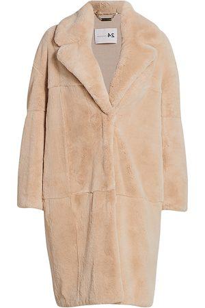 The Fur Salon Women's Manzoni 24 For Rabbit Fur Notch-Collar Coat - - Size XS