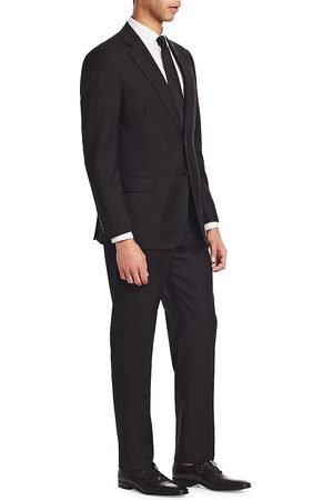 Emporio Armani Men's G Line Charcoal Solid Super 130s Suit - - Size 60 (50) R