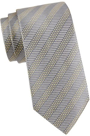 Charvet Men's Stripe Silk Tie